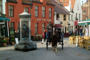 Bruges City by horse and carriage